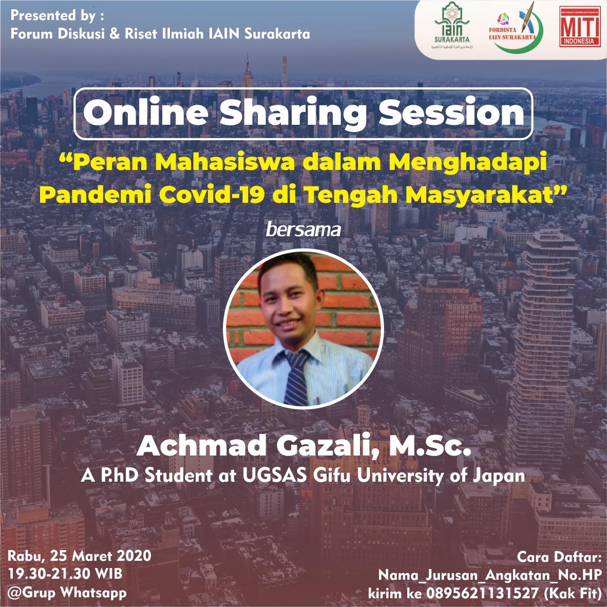 You are currently viewing Peran Mahasiswa dalam Menghadapi Pandemi Covid-19 di Tengah Masyarakat