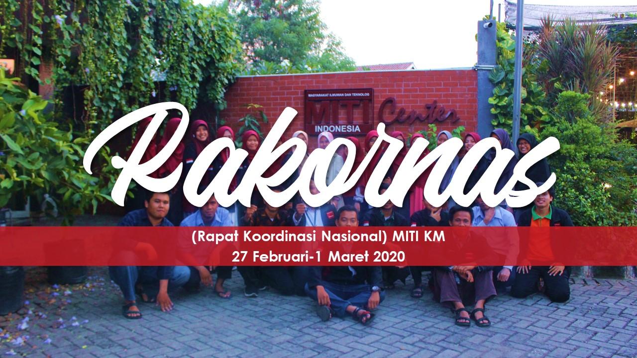 Read more about the article Press Release Rakornas MITI KM 2020