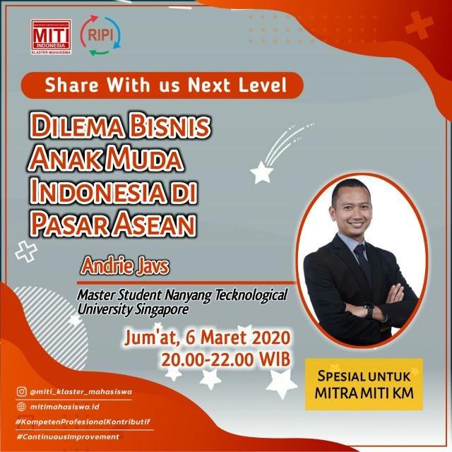 You are currently viewing Dilema Bisnis Anak Muda Indonesia Di Pasar Asean