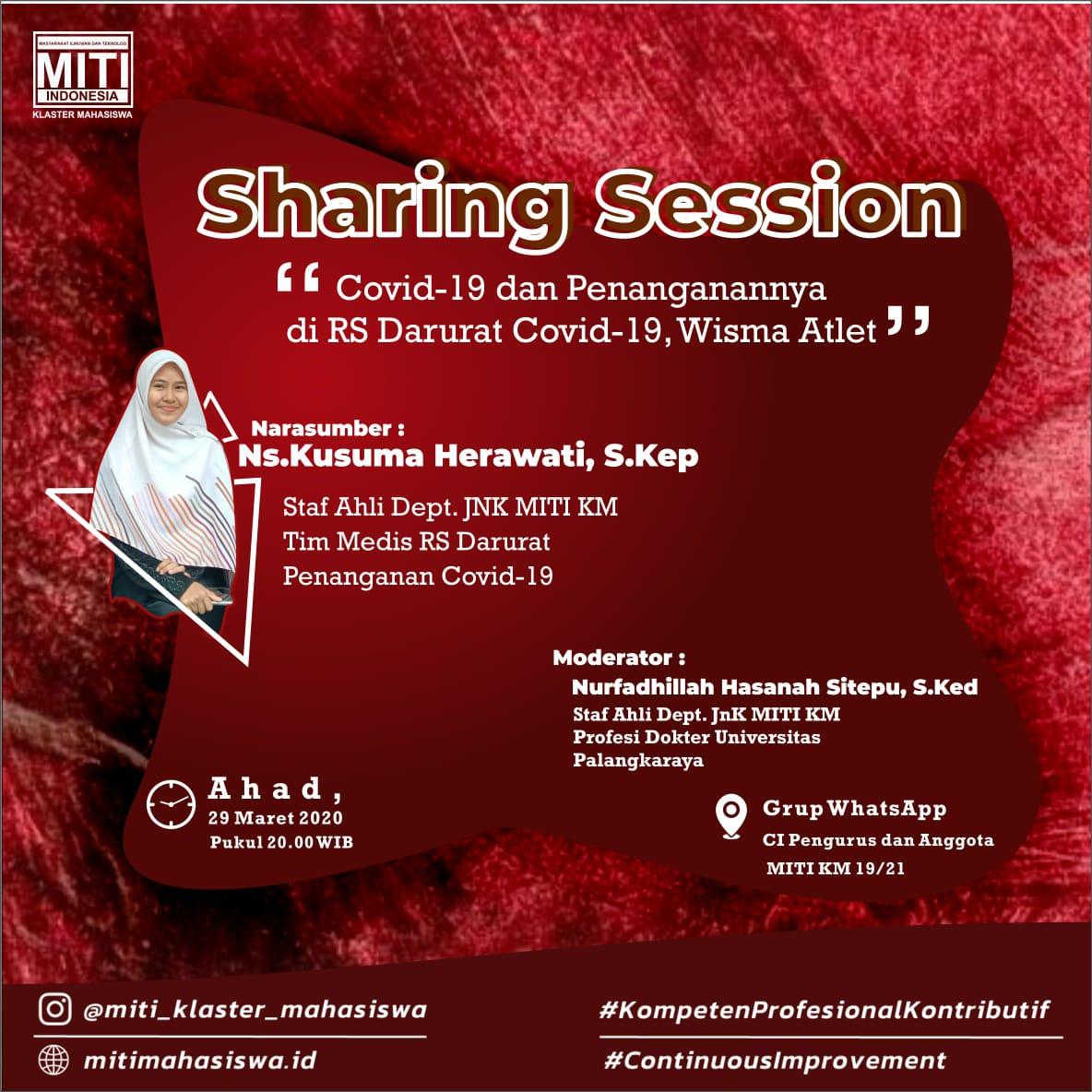 Read more about the article Covid-19 Dan Penanganannya Di RS Darurat Covid-19,  Wisma Atlet- Sharing Session