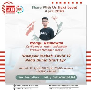 Read more about the article Dampak Wabah Covid-19 Pada Dunia START UP