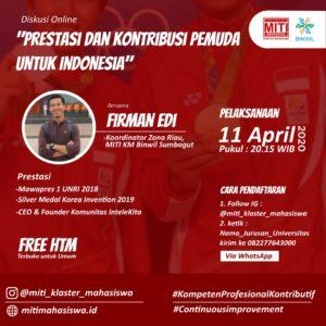 Read more about the article Prestasi dan Kontribusi Pemuda Untuk Indonesia