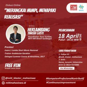 Read more about the article Merangkai Mimpi, Menapaki Realisasi