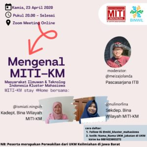 Read more about the article MITI KM Jalin Kerjasama dengan Lembaga Ilmiah Se-Jawa Barat