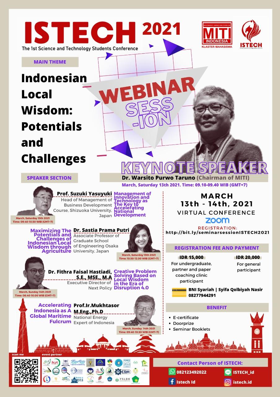 Read more about the article GELAR KONFERENSI INTERNASIONAL, MITI KM SIAP BERKONTRIBUSI MENUJU INDONESIA 2045